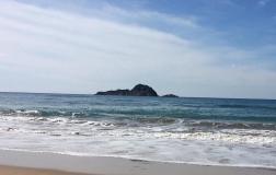 Blick auf die Dracheninsel