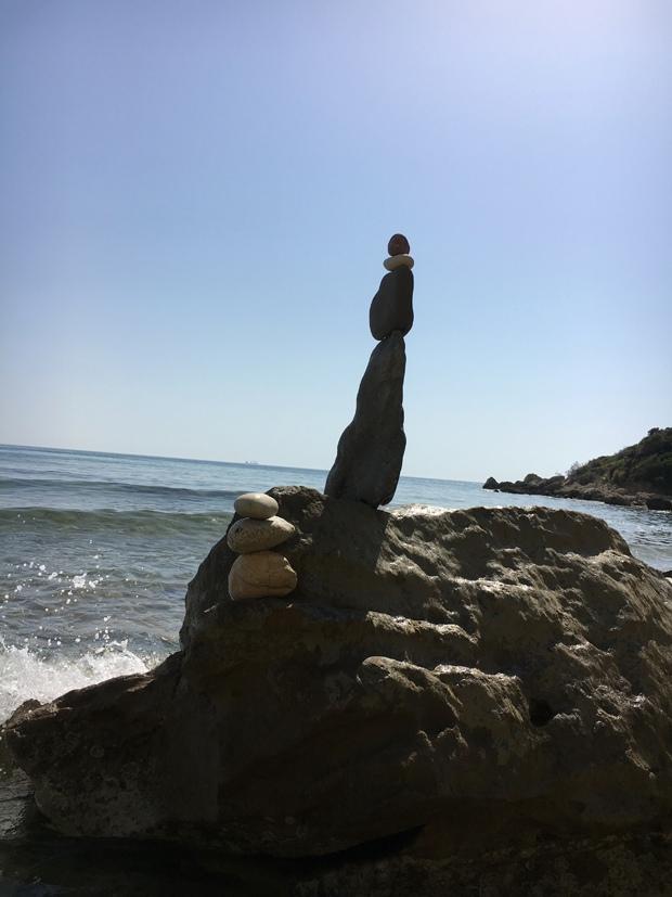 Strandkunst - Steine